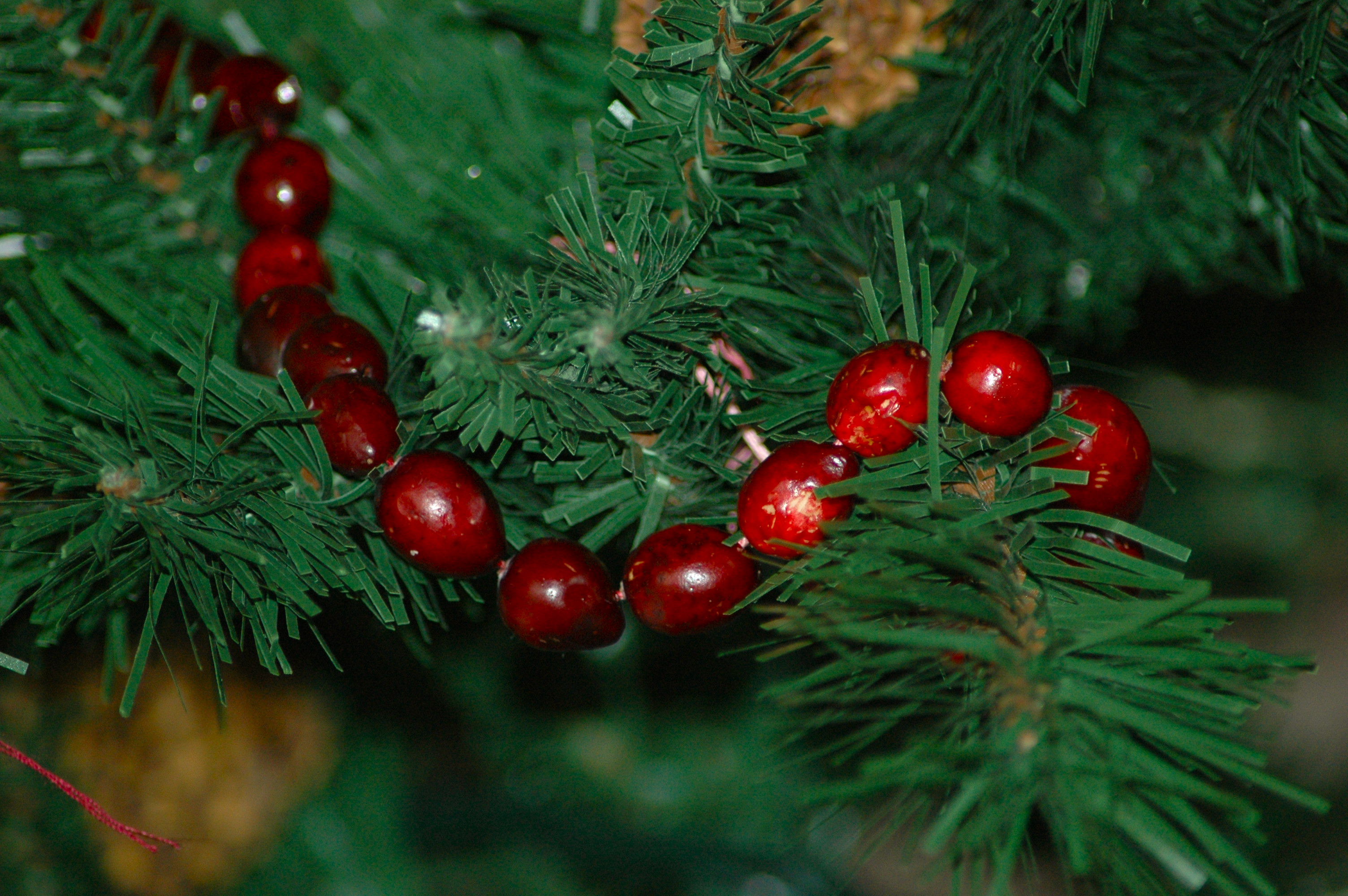 natural Christmas tree decorations   fig & fennel